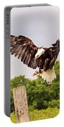 The Eagle Is Landing Portable Battery Charger