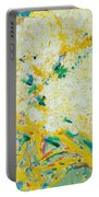 The Elderflower Tree Oil On Canvas Portable Battery Charger