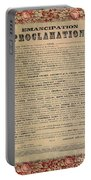 The Emancipation Proclamation Portable Battery Charger by American School