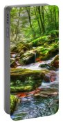 The Emerald Forest 15 Portable Battery Charger