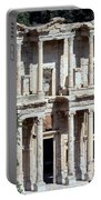 The Ephesus Library In Turkey Portable Battery Charger