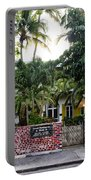 The Ernest Hemingway House - Key West Portable Battery Charger