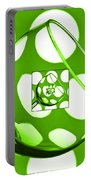 The Eternal Glass Green Portable Battery Charger