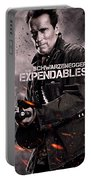 The Expendables 2 Schwarzenegger Portable Battery Charger