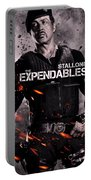 The Expendables 2 Stallone Portable Battery Charger