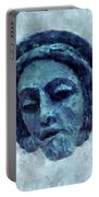 The Face Of Blue Portable Battery Charger