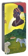 The Faces Of Africa Portable Battery Charger