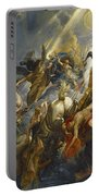 The Fall Of Phaeton Portable Battery Charger by  Peter Paul Rubens