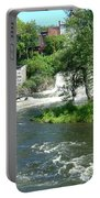 The Falls In Middlebury Portable Battery Charger