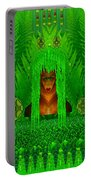 The Fantasy Girl In The Fauna  Portable Battery Charger
