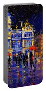The Festival Of Lights In Lyon France Portable Battery Charger