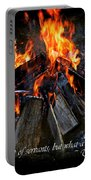 The Fire Portable Battery Charger