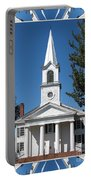 The First Church Of Evans In New York State Portable Battery Charger