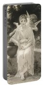 The First Whisper Of Love After Bouguereau Portable Battery Charger