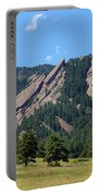 The Flatirons Portable Battery Charger by Bob Hislop