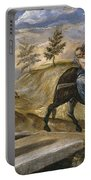 The Flight Into Egypt Portable Battery Charger