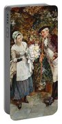 The Flower Girl Portable Battery Charger by Henry Gillar Glindoni