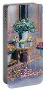 The Flower Shop Paris Portable Battery Charger