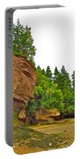 The Flowerpots At Hopewell Rocks On Bay Of Fundy-new Brunswick Portable Battery Charger