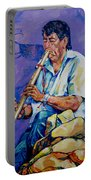 The Flute Player Portable Battery Charger