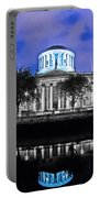 The Four Courts 5 - Dublin Ireland Portable Battery Charger