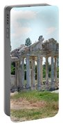 The Four Roman Columns Of The Ceremonial Gateway  Portable Battery Charger