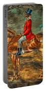 The Fox Hunt With Light Antique Store Mural Griffin Georgia Art Portable Battery Charger