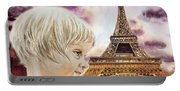 The French Girl Portable Battery Charger