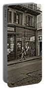 The French Quarter Sepia Portable Battery Charger