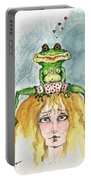 The Frog And The Princess Portable Battery Charger