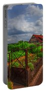 The Garden Gate Portable Battery Charger by Debra and Dave Vanderlaan