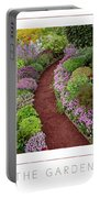 The Garden Poster Portable Battery Charger