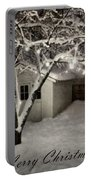 The Garden Sleeps Portable Battery Charger by Michelle Calkins