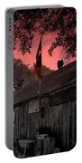 The General Store In Luckenbach Texas Portable Battery Charger by Susanne Van Hulst