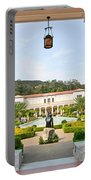 The Getty Villa Main Courtyard View From Covered Walkway. Portable Battery Charger