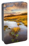 The Glades At Sunset Portable Battery Charger