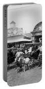 The Goat Carriages Coney Island 1900 Portable Battery Charger