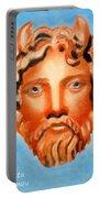 The God Jupiter Or Zeus.  Portable Battery Charger