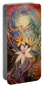 The Golan Heights Lilies Portable Battery Charger