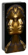 The Golden Girl At Caesar's Palace Portable Battery Charger