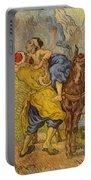 The Good Samaritan - After Delacroix Portable Battery Charger