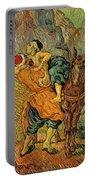 The Good Samaritan After Delacroix 1890 Portable Battery Charger