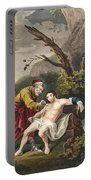 The Good Samaritan, Illustration Portable Battery Charger