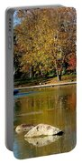 The Goodale Park  Fountain Portable Battery Charger