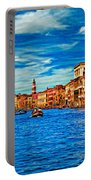 The Grand Canal Impasto Portable Battery Charger
