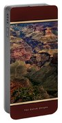 The Grand Canyon Portable Battery Charger by Tom Prendergast