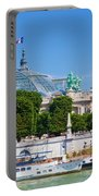 The Grand Palais And The Alexandre Bridge Paris Portable Battery Charger