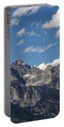 The Grand Tetons - Grand Teton National Park Wyoming Portable Battery Charger