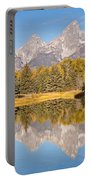 The Grand Tetons Schwabacher Landing Grand Teton National Park Portable Battery Charger