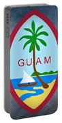 The Great Seal Of Guam Territory Of Usa  Portable Battery Charger